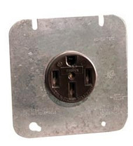 Parallax 50 Amp Receptacle & Plate