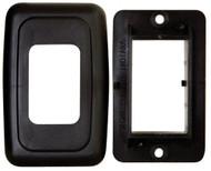 Base/Switch Plate Assembly Single, Black