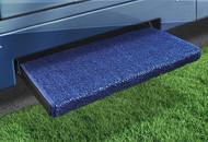 Jumbo Wraparound +Plus Step Rug, Imperial Blue