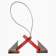 Fastway ONEstep Tandem Axle Wheel Chock