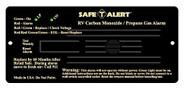 Safe-T-Alert Combination CO/LP Gas Alarm - Black