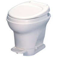 Thetford Aqua Magic High Profile with Foot Flush Toilet - White
