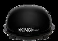 Kings Control King Relay Portable Domed Antenna - Refurbished - Black
