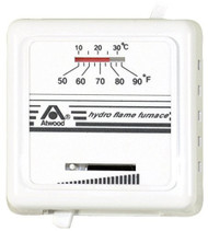 Atwood Thermostat, Heat Only, White