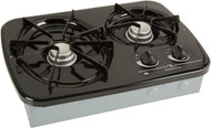 Atwood Wedgewood Vision Drop-In, 2 Burner Black Cooktop