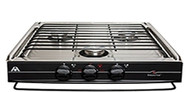Atwood Wedgewood Slide In Cooktop - 3 Burner Stainless