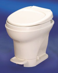Thetford Aqua-Magic High Profile Foot Flush Toilet - Parchment