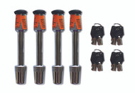 Blue Ox Receiver-Tow Bar 4 Lock Kit