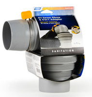 Camco Sewer Easy Slip Elbow & 4in1 Adapter