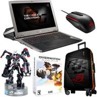 "ASUS ROG GX700VO-VS74K 17.3"" Gaming Laptop, i7-6820HK Skylake 64GB RAM 1TB SSD, GTX 980M 8G G-SYNC + Overwatch Bundle"
