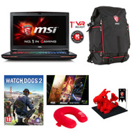 "MSI GT72VR Dominator-033 17.3"" Gaming Laptop - Core i7-6700HQ Skylake, 16GB RAM, 1TB+512 SSD, GTX1060 6G VRAM G-Sync, VR Ready"