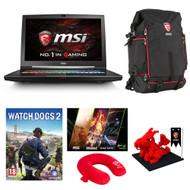 MSI GT73VR TITAN-PRO-202 VR-Ready 120Hz i7-6820HK GTX1080 32GB/512GBSSD+1TB