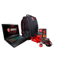 "MSI GE72MVR APACHE PRO-001 17.3"" Gaming Laptop - Intel Core i7-7700HQ (Kaby Lake), GTX1070, 16 GB DDR4, 256GB SSD +1TB HDD, Steel Series Keyboard, Win10 VR Ready"