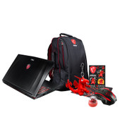 "MSI GE62MVR APACHE PRO-003 15.6"" Gaming Laptop (Kaby Lake) - Core i7-7700HQ, 16GB RAM, 256GB SSD + 1TB HDD, GTX 1070 8GB, Win 10"