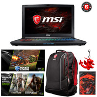 "MSI GP62MVR Leopard Pro-408 15.6"" Gaming Laptop - Core i7-7700HQ (Kaby Lake), GTX1060, 16GB DDR4,  256GB SSD + 1TB HDD, Win 10"