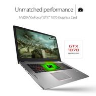 "ASUS ROG GL702VS-RS71 17.3"" 120Hz G-Sync Gaming Laptop Core i7-7700HQ, GTX 1070 8GB DDR5, 1TB HDD, 16GB DDR4, Windows 10"