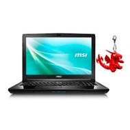 """MSI CX62 7QL-058 15.6"""" Laptop- Intel Core i5-7200U, GeForce 940M, 8GB DDR4, 1TB HDD, Win10 PRO"""