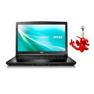 """MSI CX72 7QL-026 17.3"""" Laptop, Intel Core i5-7200U, GeForce 940M, 8GB DDR4, 256GB SSD, Win10 PRO"""