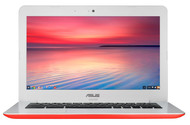 "ASUS C300MA-DH01 13.3"" Chromebook Computer (Red)"