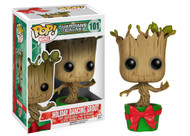 Funko POP Marvel: GOTG Holiday Dancing Groot Action Figure