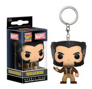 Funko Marvel X-men Logan Wolverine Pocket POP Keychain Action Figure Superhero