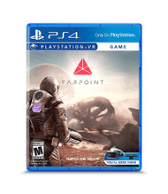PlayStation 4 VR - Farpoint VR Exclusive Console Video Game Disc