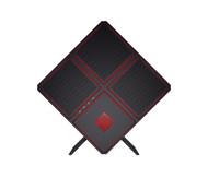 HP Omen X 900-110 Gaming Desktop PC - Intel Core i7-7700K 4.2GHz, AMD Radeon RX 580R, 8GB RAM, 256GB SSD + 2TB HDD, Win 10