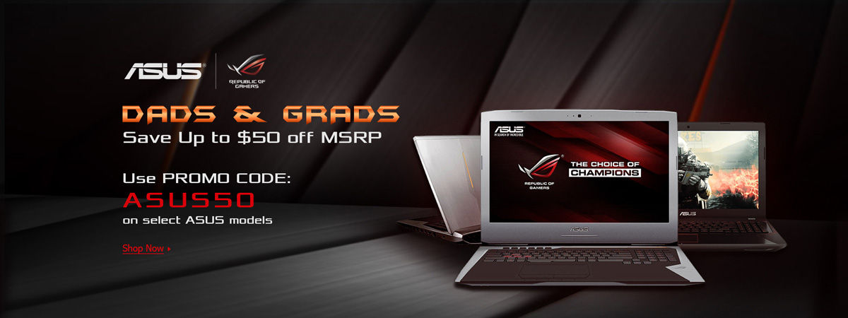 ASUS Dads + Grads