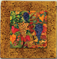 """Countryside Tile 03 by Kenarov Art, 10""""x10"""" ready to hang."""