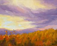 """""""Sunflowers at Dusk"""" by Terri Sanchez 8x10"""