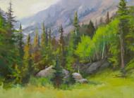 """Color in the Rockies"" by Terri Sanchez 12x16"