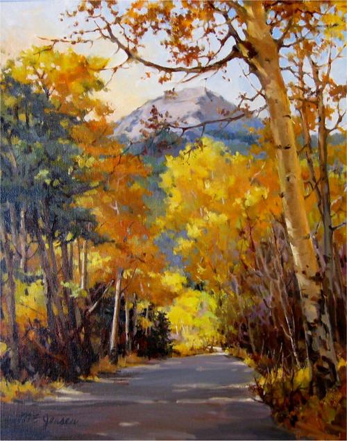 """Mount Chapin View"" Margaret Jensen 16x20"