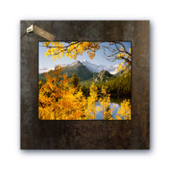 Fine art photography by David Clack mounted on tile.  Image is UV laminated onto a 20x20 oxidized porcelain tile with a fade and scratch resistant coating. This elegant presentation is ready to hang and perfect for an office or home.