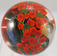 """Red Rose Garden Paperweight"" by Shawn Messenger"