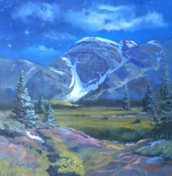 """Moondance Meadows"" Heather Coen 18x18"