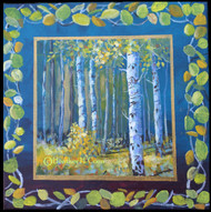 """Gold in the Aspen"" Heather Coen 12x12"