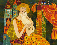 """Lovely Cat"" Yelena Sidorova 24x36"
