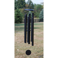 """Our most popular midsize chime, the 50"""" T516 shown in Black is a proven favorite of many windchime enthusiasts. Its tones closely match the singing range of most people. Limited Colors available: Black, Copper Vein, Patina Green.   Please call the gallery for availability in sizes and colors."""