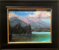 """Reflection Lake"", George Coll, 12x16"