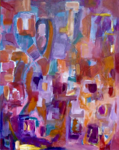"""""""Salud"""" by Laura Brenton 24x30"""