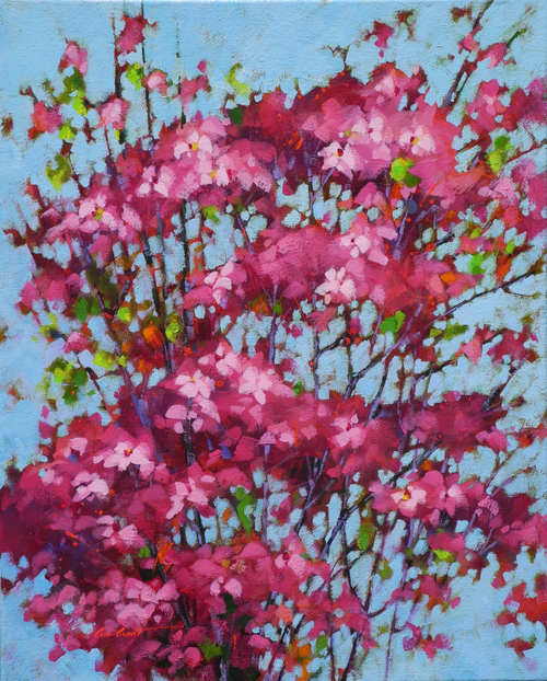 """Blossom Bunch"" by Coni Grant, 20x16"