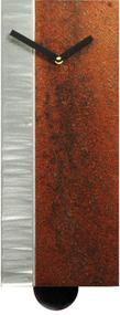 """Harmony"" clock  with pendulum by Robert Rickard in ""Desert""."