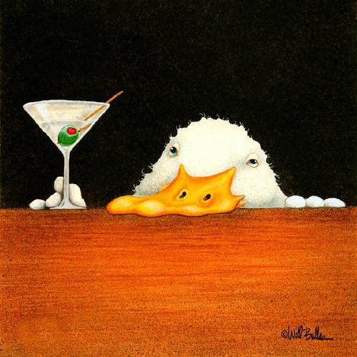 """""""Bar Bill"""" Metal Print by Will Bullas"""