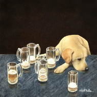 """What Is That In Dog Beers?"" Metal Print by Will Bullas"