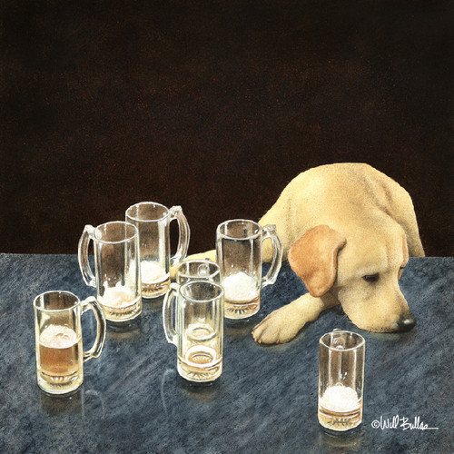 """""""What Is That In Dog Beers?"""" Metal Print by Will Bullas"""