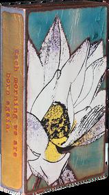 "Houston Llew Spiritile #149, ""Awaken""- Molten glass over copper art."