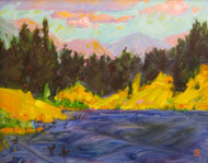 """""""One Summer Day at Lily Lake"""" Maggie Renner-Hellmann 8x10"""