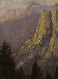 """Lumpie Ridge"" by David Montgomery 9x12"