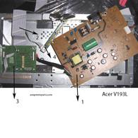 Acer V193l Monitor Parts