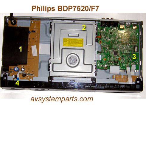 Philips 7520/f7 Parts